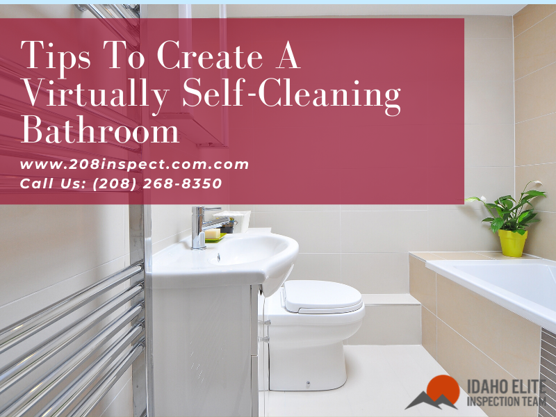 Self Cleaning Bathroom