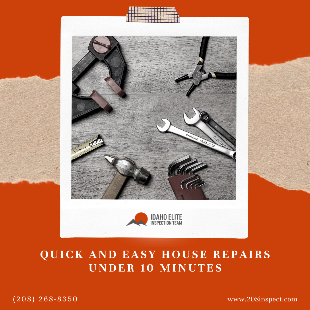 Quick and Easy House Repairs