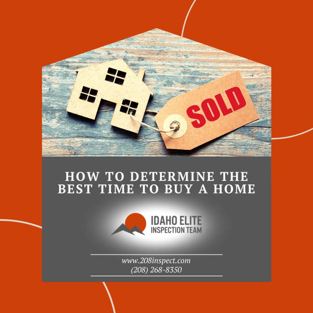 Idaho elite Inspection Team How to Determine the Best Time to Buy a Home