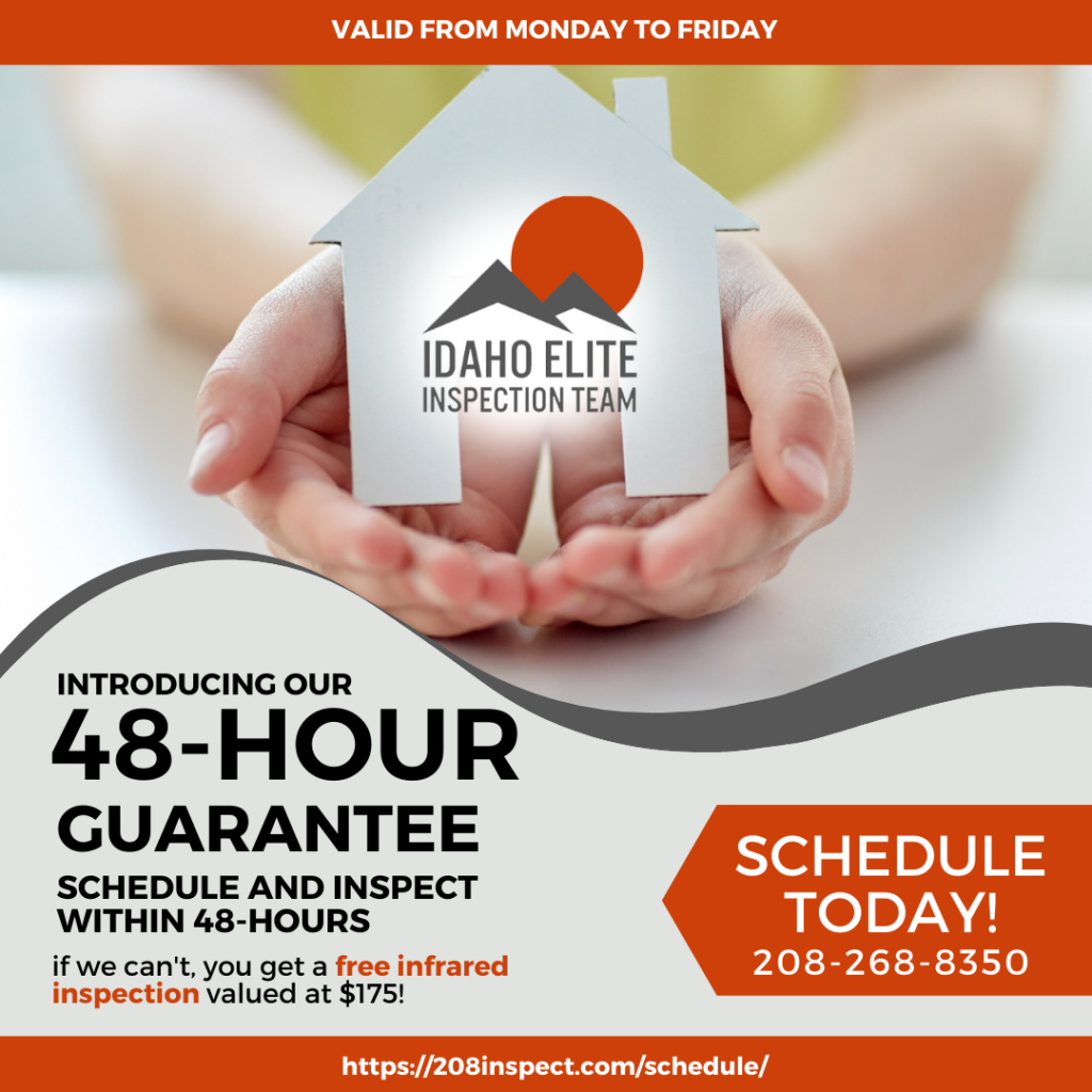 48-Hour Guarantee Idaho Elite Inspection Team